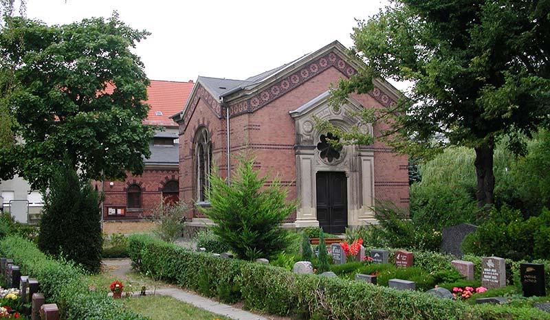 Kapelle Friedhof Großzschocher