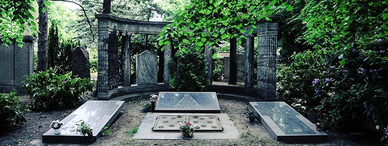 Grab Friedhof Leutzsch