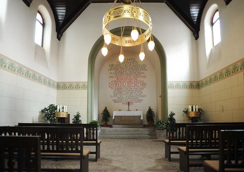 Kapelle Friedhof Leutzsch