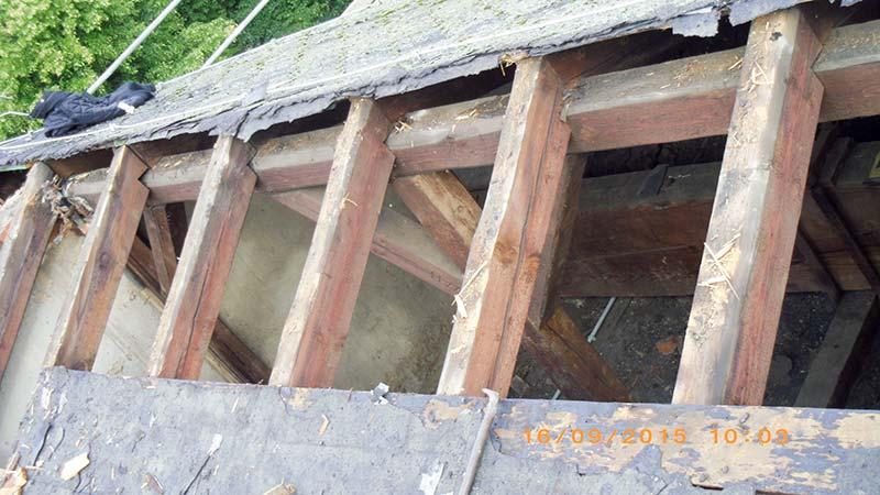 Dachsanierung Hauptkapelle