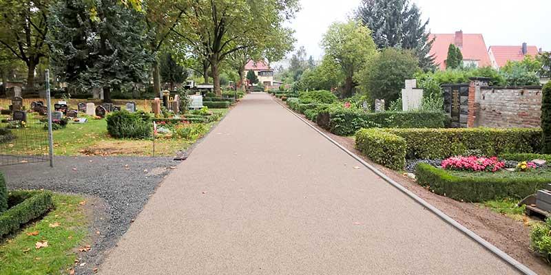 Wegebau Friedhof