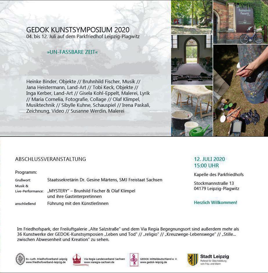 Einladung GEDOK